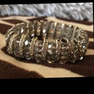 Fun and stretchy sparkly bracelet!